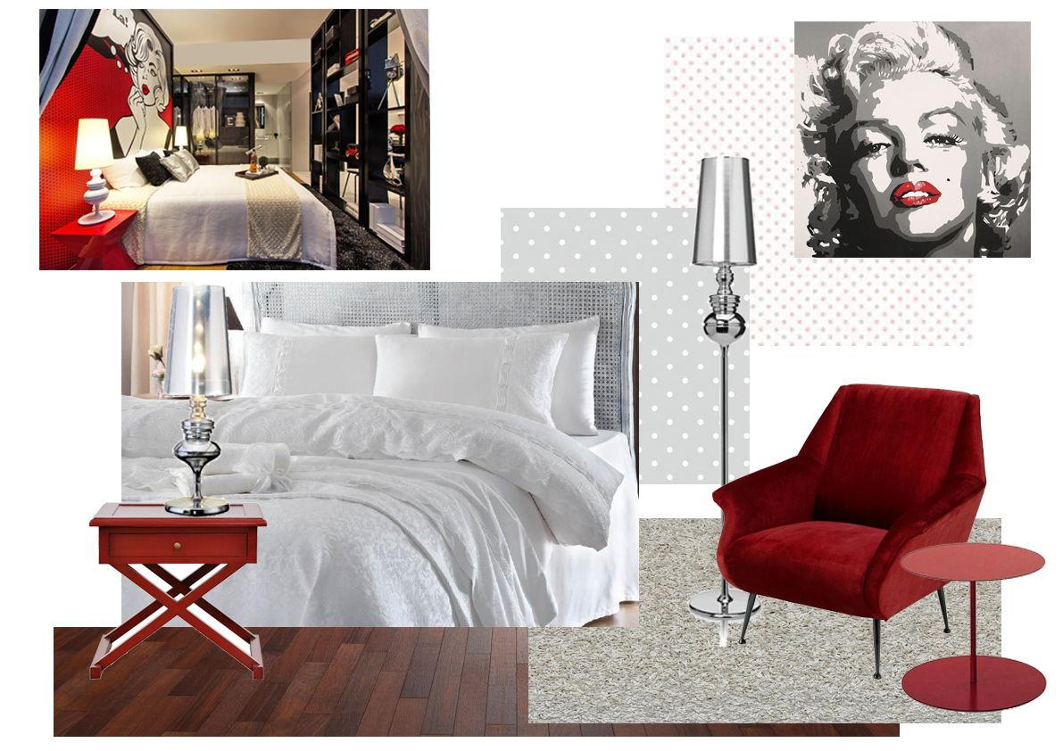 коллаж-концепт-спальня